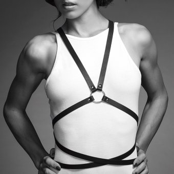 MAZE - Black Multi-Way Body Harness