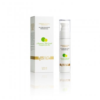 YESforLOV Delicious All-Over Massage Gel - Pineapple Green Tea