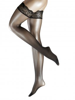 Stay-up Lace Black Thigh High