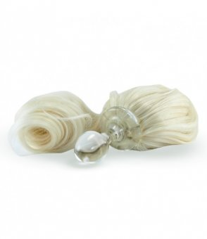 Detachable Faux Pony Tail Plug - Blonde
