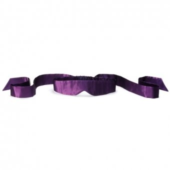 LELO Intima Silk Blindfold - Purple